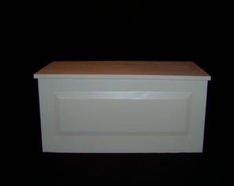 Cedar Lined Painted Pine Hope Chest