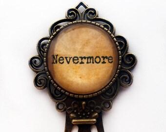 Edgar Allan Poe Nevermore Bookmark