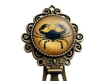 Zodiac Cancer Bookmark