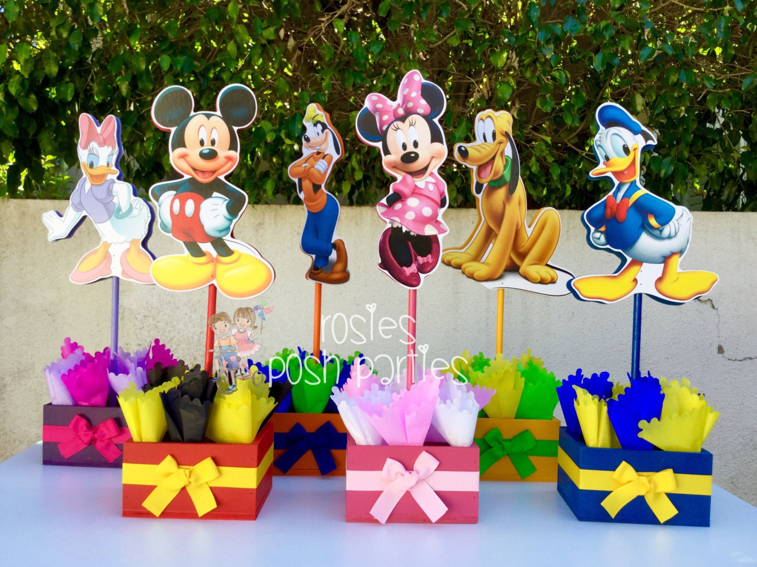 Mickey Mouse Birthday Party Ideas: Mickey Mouse Clubhouse Birthday Party Wood By