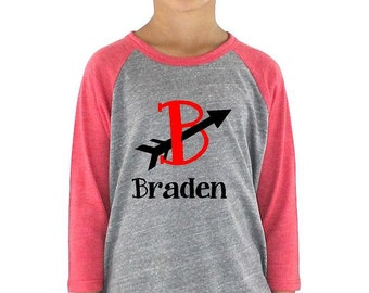 Personalized Valentin'es Day Youth Tee