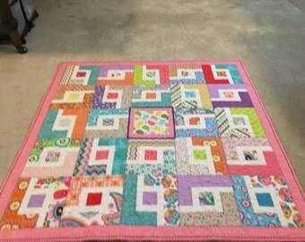 Mini Maze quilt 42x41