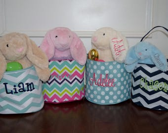 Personalized Easter Basket AND Bunny Special!