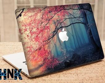 macbook pro vinyl skin cover / Macbook skin / mac sticker / decal / nature  MS031