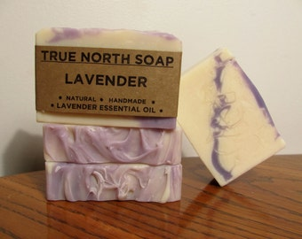 Lavender Soap - Handmade Soap, Natural Soap, Cold Processed Soap,