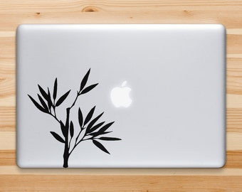 Bamboo Decal, Bamboo Sticker for iPad iPhone MacBook Or Walls and Cars