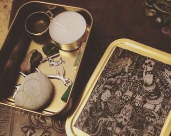 Custom shrines, witch box