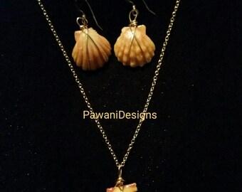 Hawaii Sunrise Shell Jewelry Set