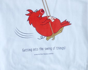 Getting Into the Swing of Things Razorback T-Shirt
