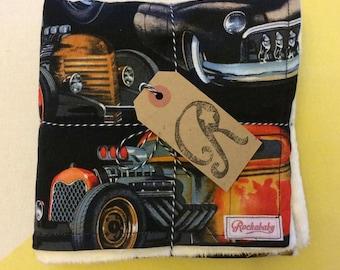 Rat Rod Baby Blanket