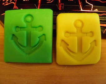 Anchor soap stamp 3cm x 3.5 stamping -stamps-soaps-baking tools-polymer