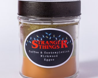 Stranger Things - Layered Soy Candle