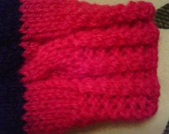 Girls fingerless gloves