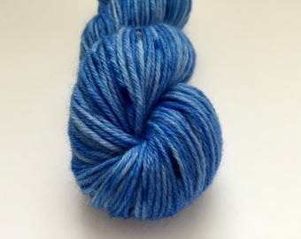 Deep Blue Sea - Hand-Dyed Yarn - 100% Worsted Weight Wool