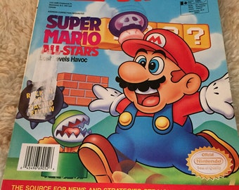Nintendo power magazine volume 52 great shape with poster collectable vintage 1990's