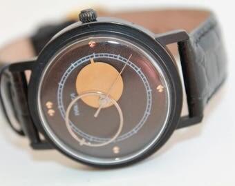 "Soviet watch Russian watch Copernicus Watch - moon and sun watch - Vintage Watch Mens watch Mechanical watch USSR Vintage ""Raketa""1980s!!!!"