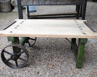 Industrial Coffee Table Bespoke any size