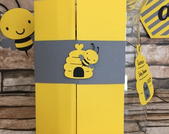 Bumble Bee Baby Shower Invitation, Bee Baby Shower Invitation, Mommy To Be Invitation, Bee Birthday Invitation, Honey Bee Baby Shower Invite