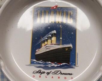 Titanic Collectible Ash Tray
