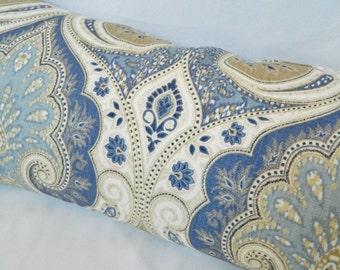 Kravet Latika-Delta / Decorative Throw Pillow Cover, Lumbar Pillow Cover, Euro Shams / Linen Fabric/ Both Sided