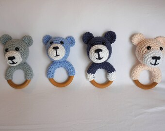 Amigurumi Bear Teether