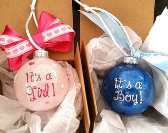 End Of Year Clearance! Gender Reveal Gift Box