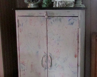 Upstyled Pine Cabinet