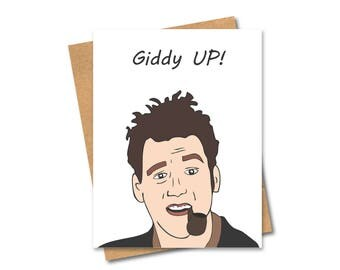 Kramer Card - Seinfeld - Graduation - Congratulations - Birthday