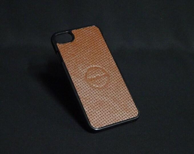 Jimmy Case - Fits Apple iPhone 7 - Basket Weave - Kangaroo leather - Handmade - James Watson