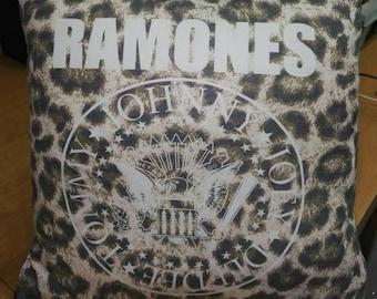 The RAMONES CUSHION punk rock