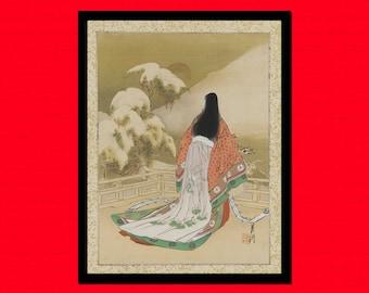 Get 1 Free Print *_* Japanese Art Print Women in Daily Life - Ogata Gekko Poster Ukiyo-e Poster Edo Prints Japanese Prints BUY 2 GET 1 FREE