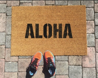 Aloha Doormat by One Summer
