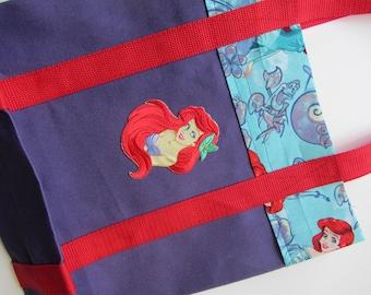 Little Mermaid Canvas Tote Bag