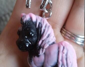 Horse - Pony-  keychain