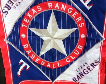 Texas Ranger Bandana and rain pancho