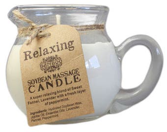 Sensious Soyaben Massage Candles for a Warm Luxurious Wax Massage