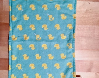 Rubber Duck Baby Burp Cloth