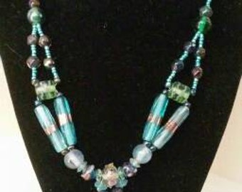 Sea of colors necklace