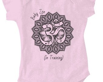 Zen Baby - OM Baby Shoulder Bodysuit