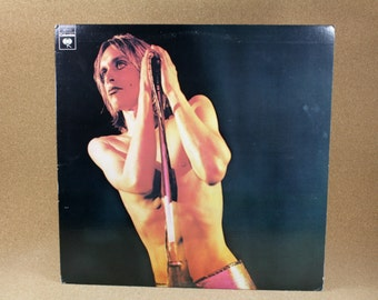 Iggy and the Stooges - Raw Power Album - Columbia Records - Punk Rock - Near Mint Condition