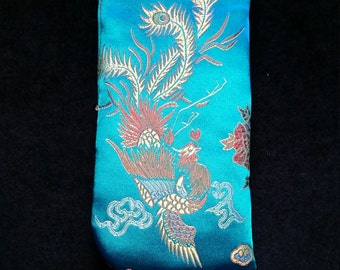 GC523. Chinese glasses case.