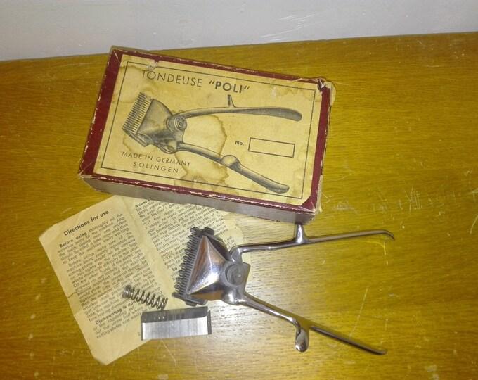 Hairclipper 'poli' , in original box
