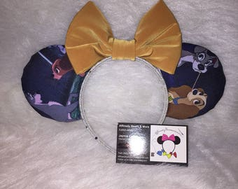 Lady and the tramp mouse ears