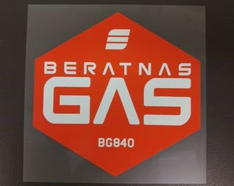 BERATNAS GAS Sticker, The Expanse