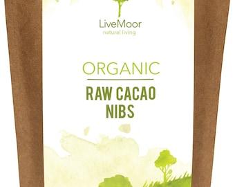 Organic Cacao Nibs Raw - 300g