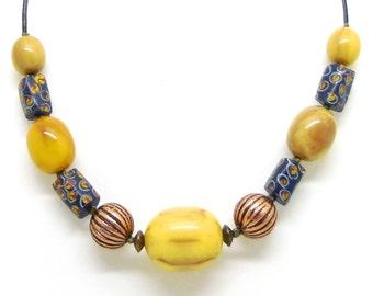 Necklace beads Millefiori