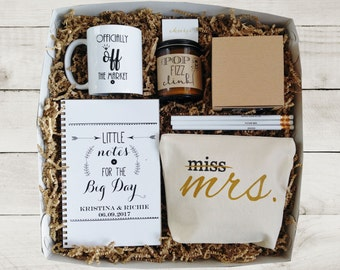 future mrs gift box bride to be gift newly engaged gift for bride gift box for