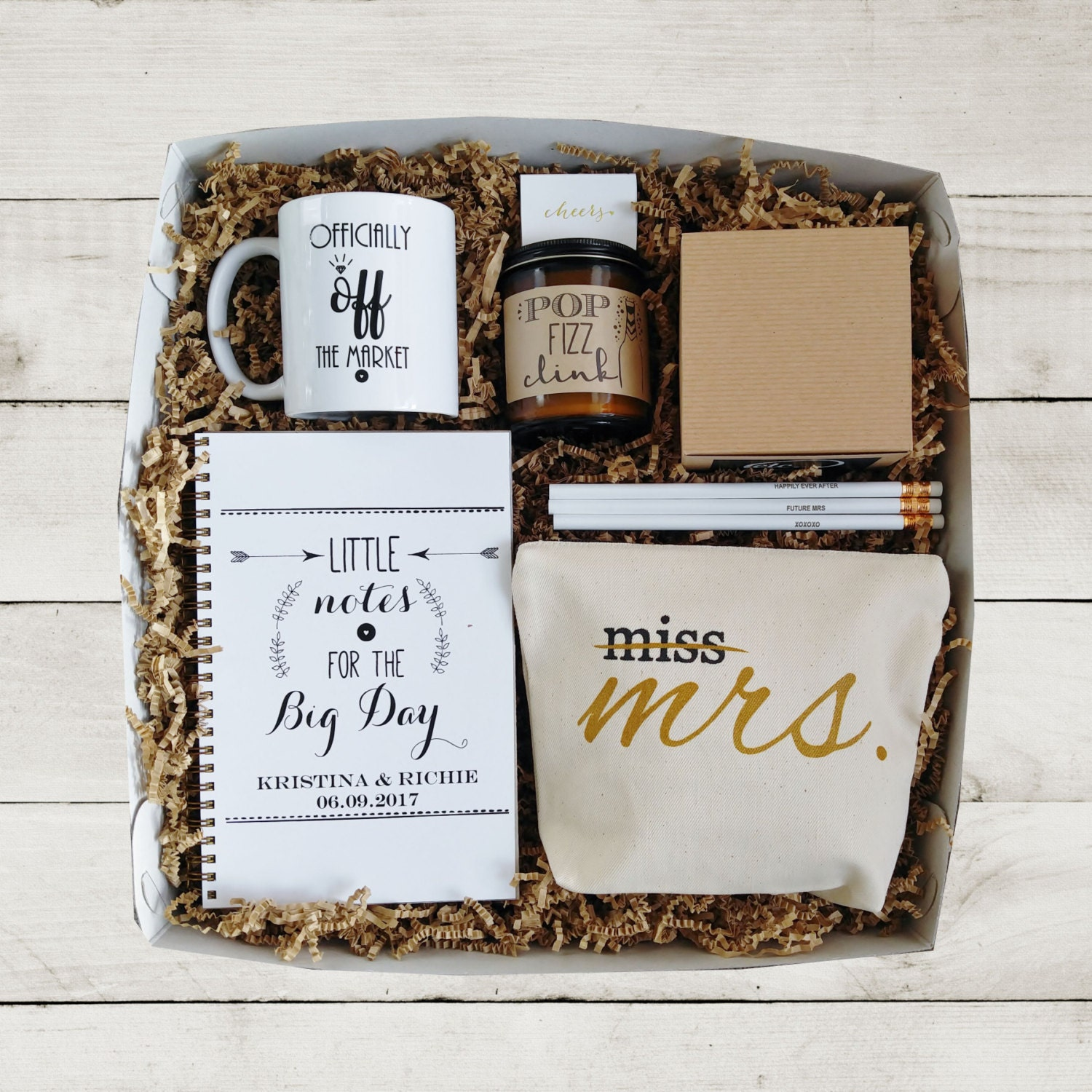 Wedding Gift Ideas For The Bride: Future Mrs Gift Box Bride To Be Gift Newly Engaged Gift For