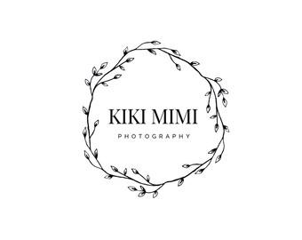 Photography Logo, Digital, Premade, Customizable, Photographers, Small Business, Boutiques, Calligraphy Logo, Modern Logo - TB-17