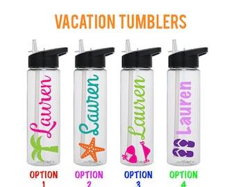 Bachelorette Trip - Girls Weekend - Bachelorette Party - Girls Trip Tumblers - Vacation Tumblers - Beach Theme Tumbler - Spring Break Bottle